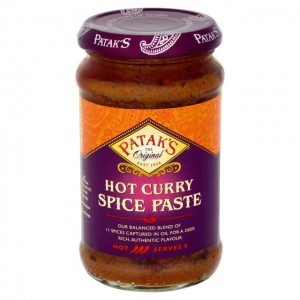 Pasta CURRY - HOT PATAKS 283g