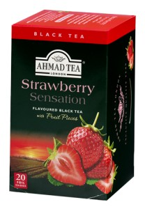 "Herbata Ahmad ""Strawberry Sensation"" (20 saszetek)"