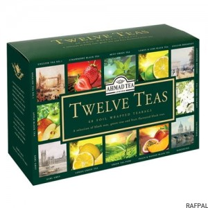 "Herbata Ahmad ""Mix Twelve Teas"" (12x5 saszetek)"