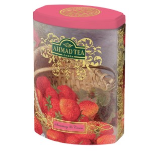 "Ahmad Tea "" Strawberry & Cream "" 100g puszka"
