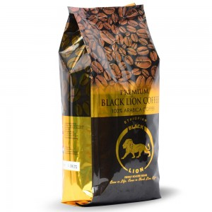 "Kawa ARABICA 100% ziarna ""Black Lion"" 250g"